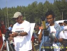 Left: Dr. Dipen bhattacharya, Right: Myself in Annular solar eclipse'10