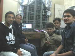 After receiving SSTV transmission with my team
